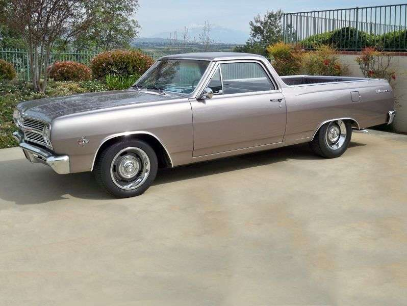 Chevrolet El Camino 2nd generation [restyling] pickup 3.2 Synchromesh (1965–1965)