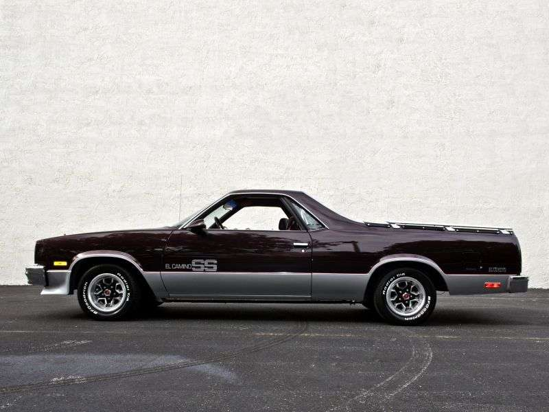 Chevrolet El Camino 5th generation [4th restyling] Classic pickup 4.3 AT (1985–1986)