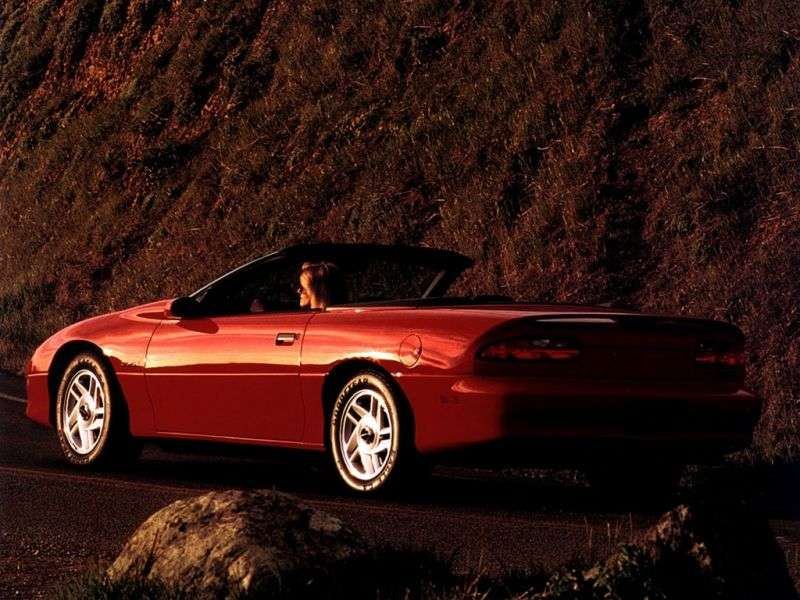 Chevrolet Camaro 4th generation Z28 convertible 2 bit. 5.7 MT (1996–1997)