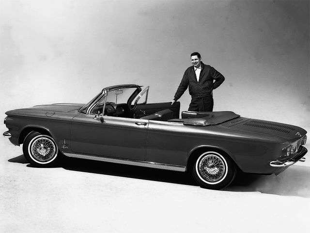 Chevrolet Corvair 1st generation [2nd restyling] 2.4 4Synchromesh convertible (1962–1962)