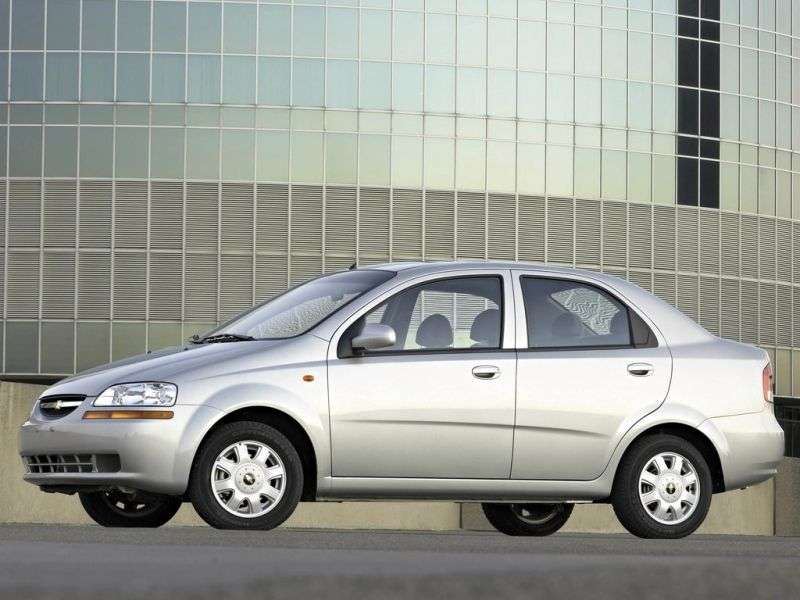 Chevrolet Kalos 1st generation 1.4 LPG AT sedan (2005–2006)