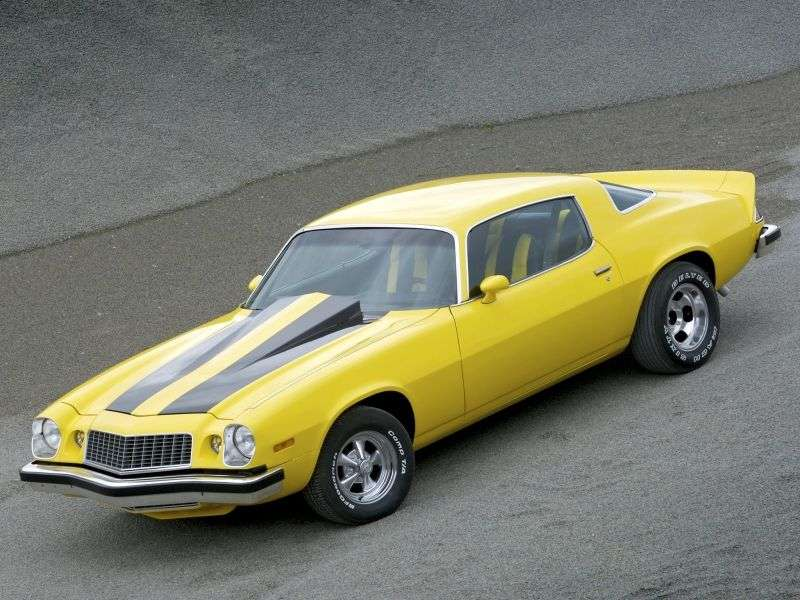 Chevrolet Camaro 2nd generation [2nd restyling] coupe 2 dv. 4.4 AT (1980–1980)