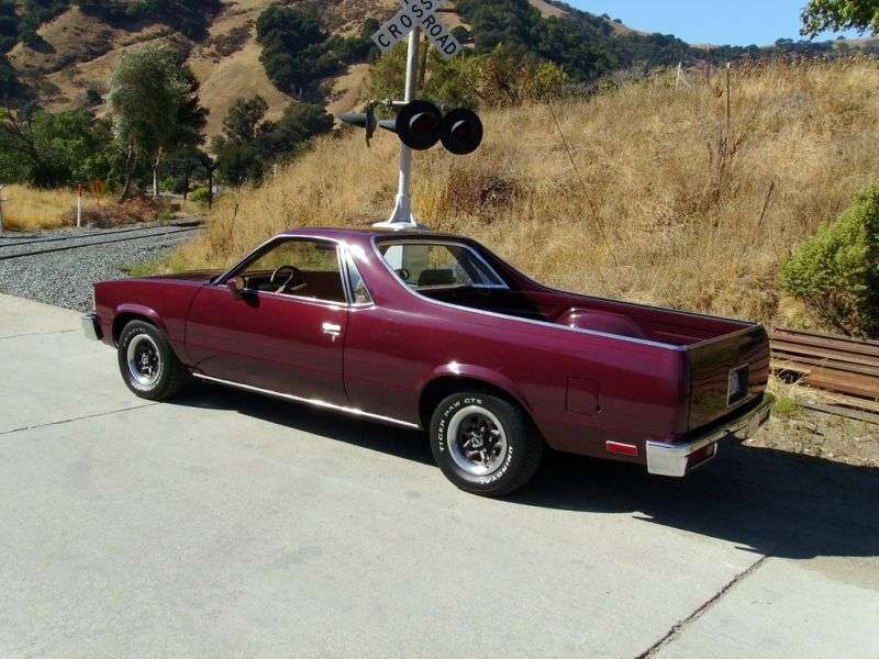 Chevrolet El Camino 5th generation [restyling] Classic pickup 4.4 AT (1979–1979)