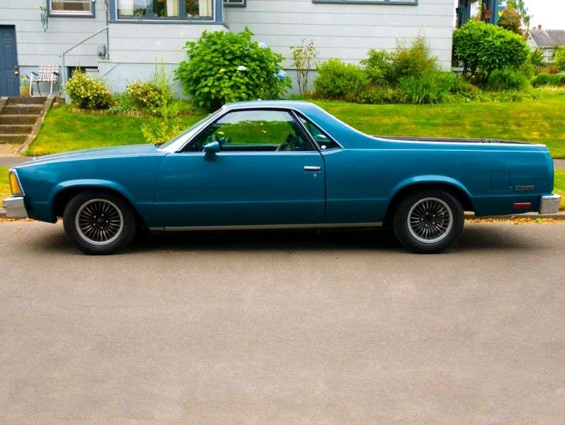 Chevrolet El Camino 5th generation [2nd restyling] Classic pickup 3.8 AT (1980–1980)