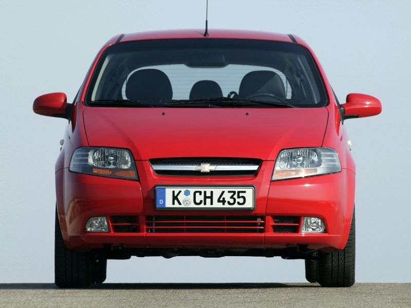Chevrolet Kalos 1 generation hatchback 5 bit. 1.6 MT (2003–2008)