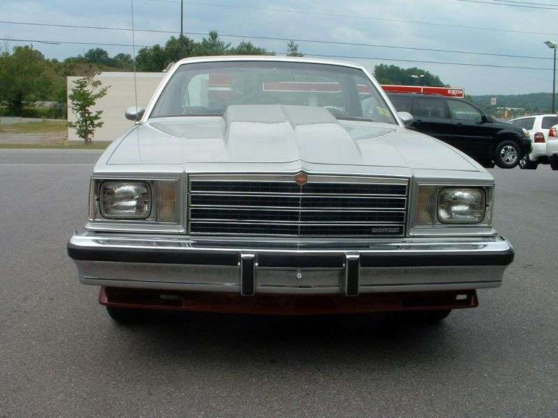 Chevrolet El Camino 5th generation [restyling] Classic pickup 4.4 MT (1979–1979)