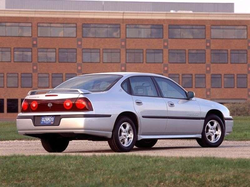 Chevrolet Impala 8 generation sedan 3.4 AT (2000–2006)