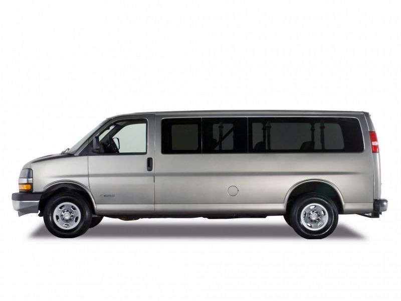 Chevrolet Express 1st generation [restyling] Minivan 4.8 AT 2500 (2003–2009)