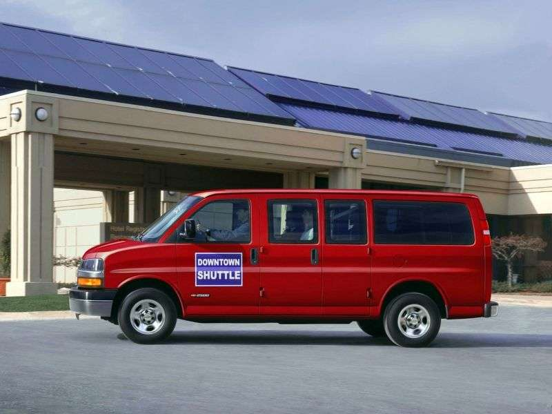 Chevrolet Express 1st generation [restyling] Minivan 5.3 Flexfuel AT AWD 1500 (2008 – n.)