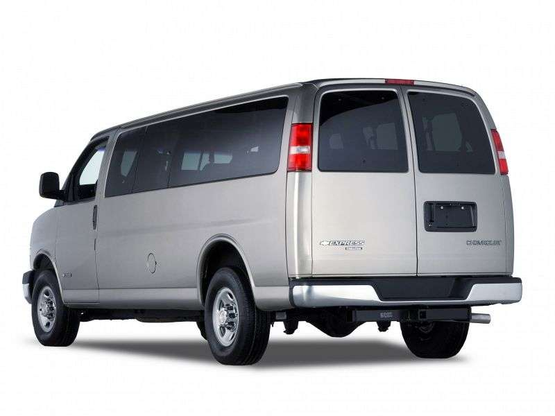 Chevrolet Express 1st generation [restyling] Minivan 6.6 TD AT 2500 (2006–2009)