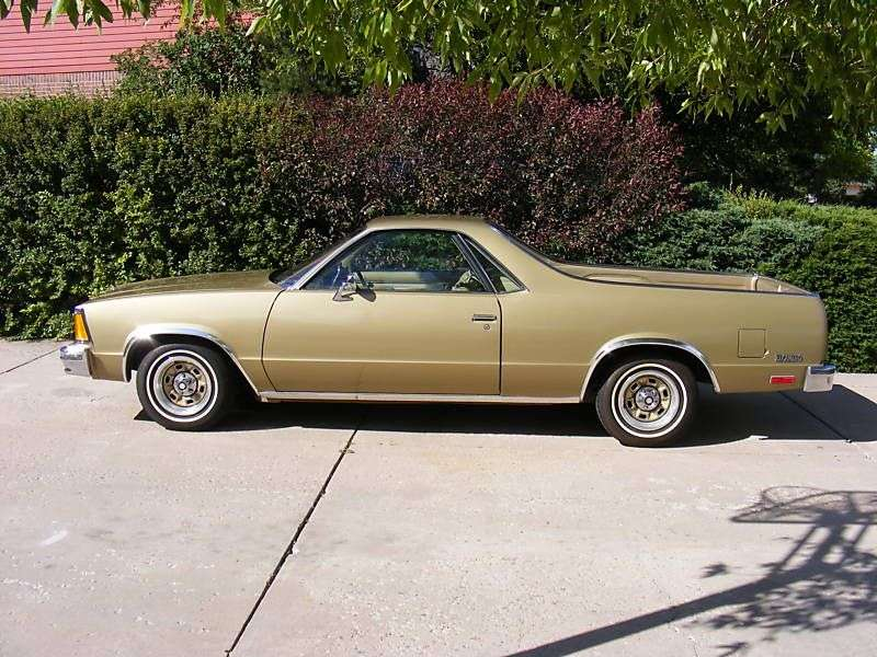 Chevrolet El Camino 5th generation [3rd restyling] Classic pickup 3.8 AT California (1981–1981)