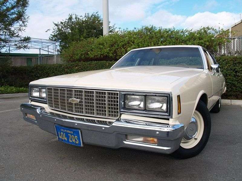 Chevrolet Impala 6th generation [3rd restyling] sedan 4.4 AT (1980–1980)