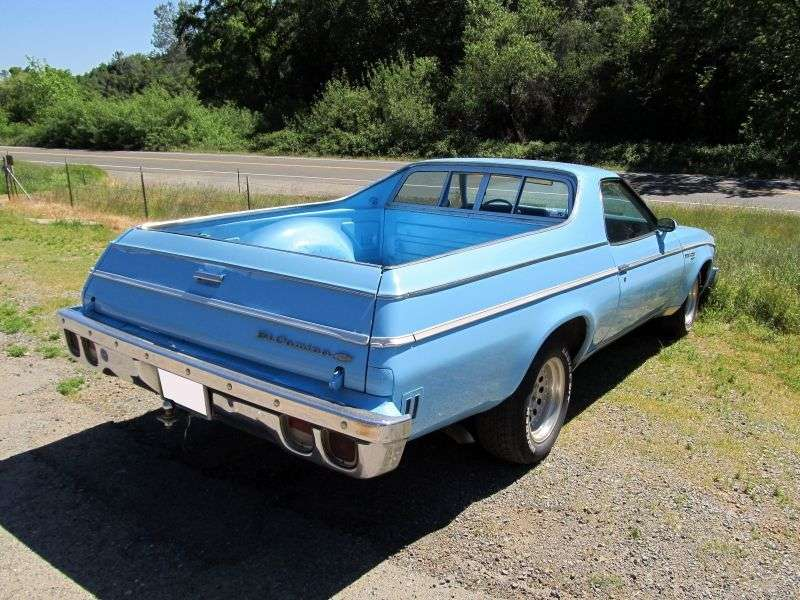 Chevrolet El Camino 4th generation [restyling] pickup 6.6 Turbo Hydra Matic (1974–1974)