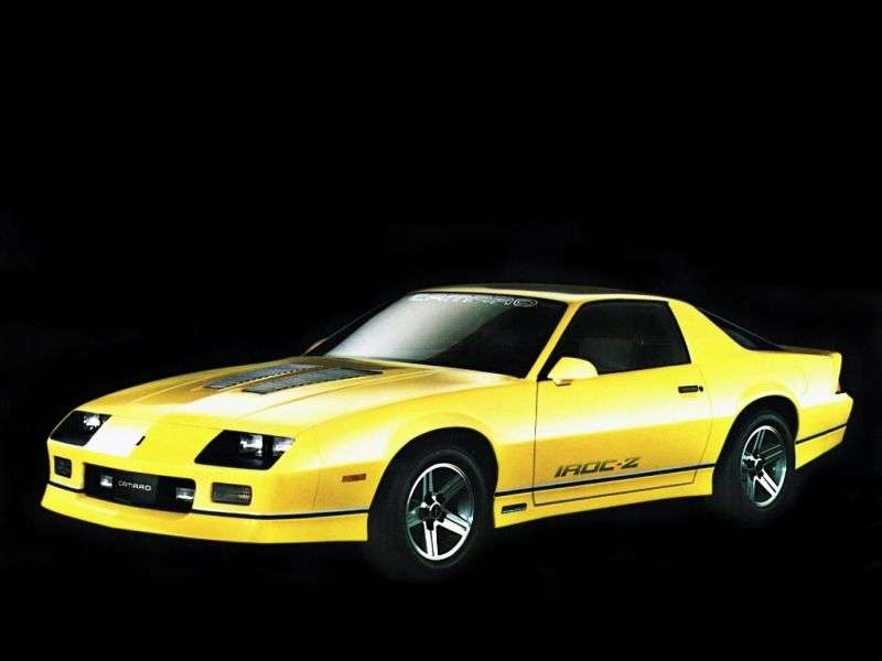 Chevrolet Camaro 3rd generation [restyling] Z28 coupe 2 bit. 5.0 AT (1985–1990)