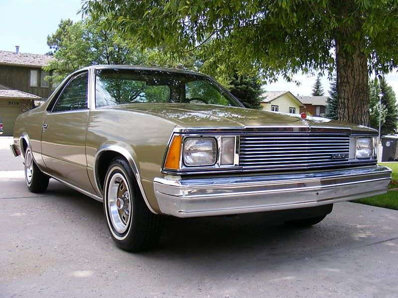 Chevrolet El Camino 5th generation [3rd restyling] Classic pickup 4.4 AT (1981–1981)