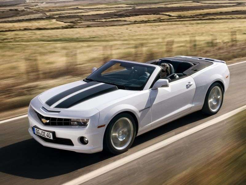 Chevrolet Camaro 5 generation convertible 2 dv. 6.2 V8 MT (2011 – n. In.)