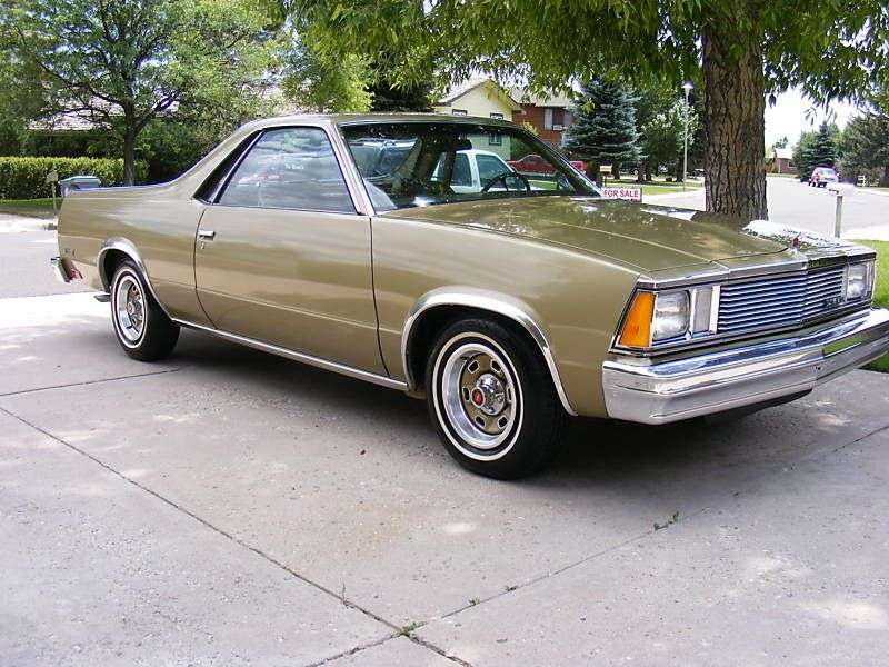 Chevrolet El Camino 5th generation [3rd restyling] Classic pickup 5.0 AT (1981–1981)