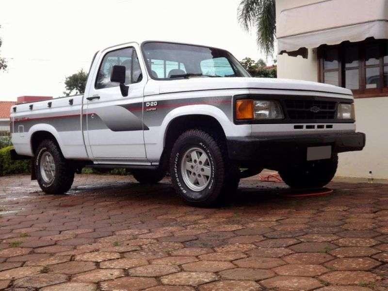 Chevrolet D20 1st generation [restyling] pickup 2 bit. 4.0 D MT (1993–1997)