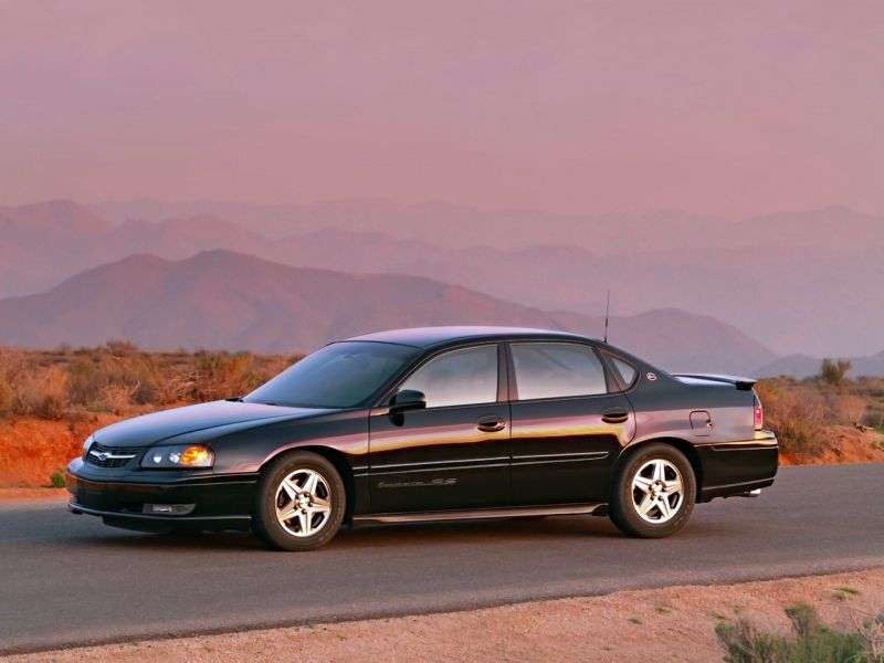 Chevrolet Impala 8 generation SS sedan 4 doors. 3.8 AT (2004–2006)