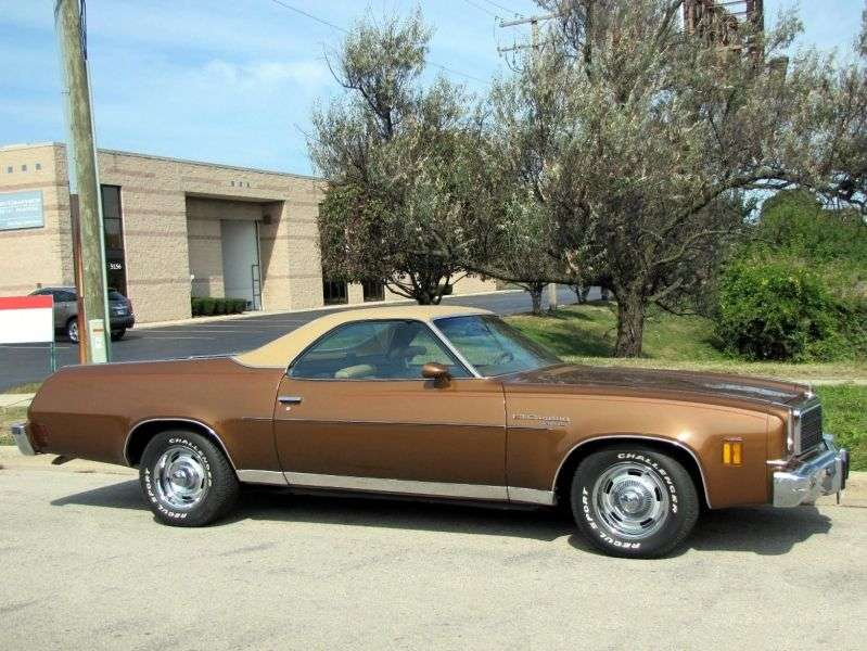 Chevrolet El Camino 4th generation [restyling] pickup 5.7 Turbo Hydra Matic (1974–1974)