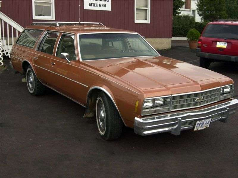 Chevrolet Impala 6th generation universal 5.7 Turbo Hydra Matic 3 seat (1977–1977)