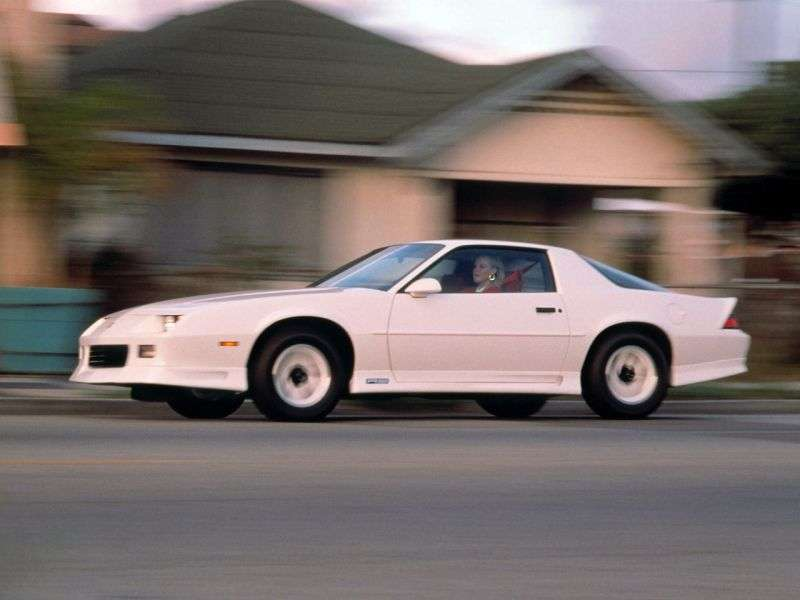 Chevrolet Camaro 3rd generation [2nd restyling] coupe 2 dv. 3.1 AT (1991–1992)