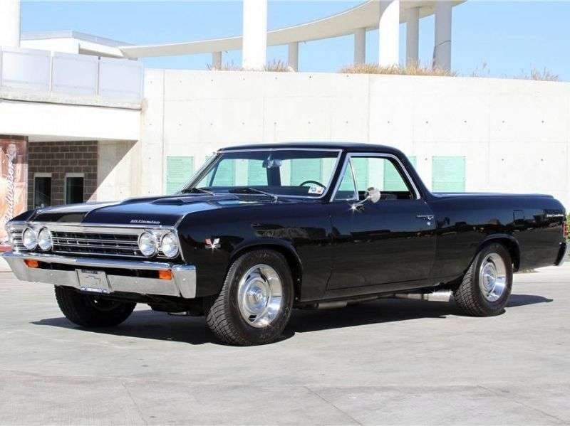 Chevrolet El Camino 2nd generation [3rd restyling] pickup 3.8 Synchromesh HD (1967–1967)