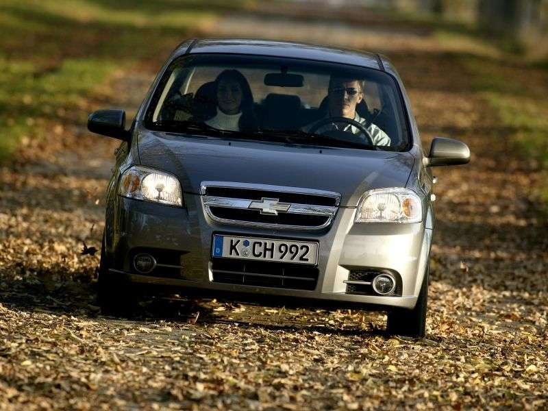 Chevrolet Aveo T250 [restyling] sedan 1.5 MT (2008–2011)