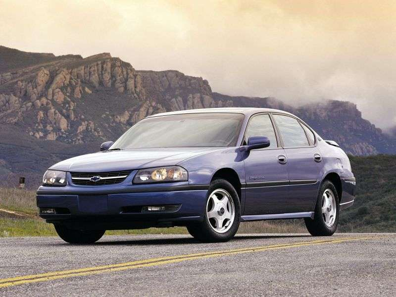 Chevrolet Impala 8 generation sedan 3.8 AT (2000–2006)