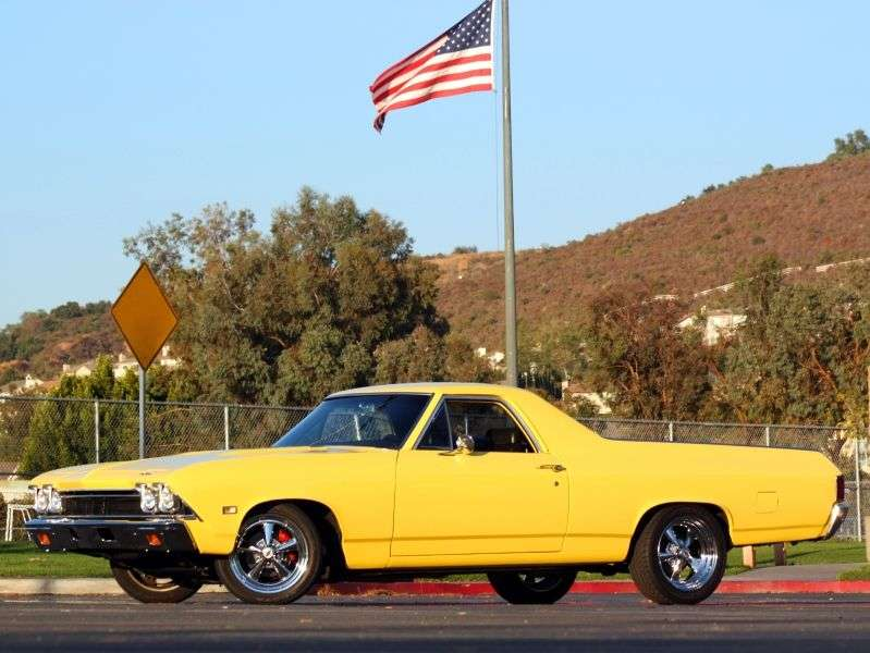 Chevrolet El Camino 3rd generation pickup 4.1 Powerglide (1968–1968)