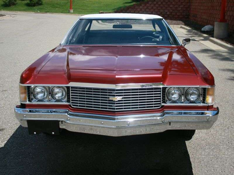 Chevrolet Impala 5th generation [3rd restyling] Custom Coupe 5.7 Turbo Hydra Matic (1974–1974)