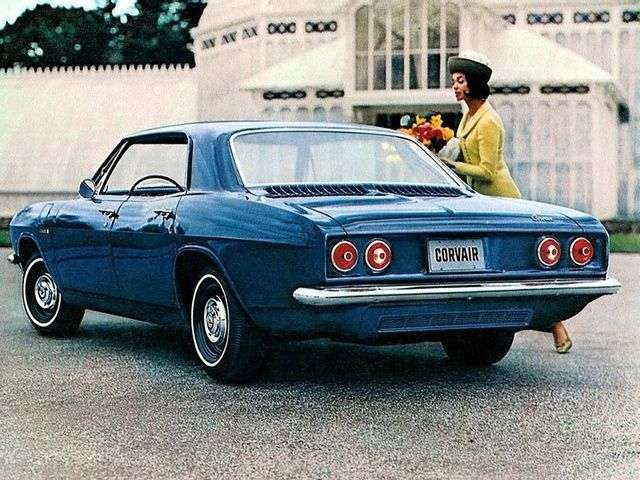 Chevrolet Corvair 2nd generation [restyling] hardtop 2.7 Powerglide (1965–1967)