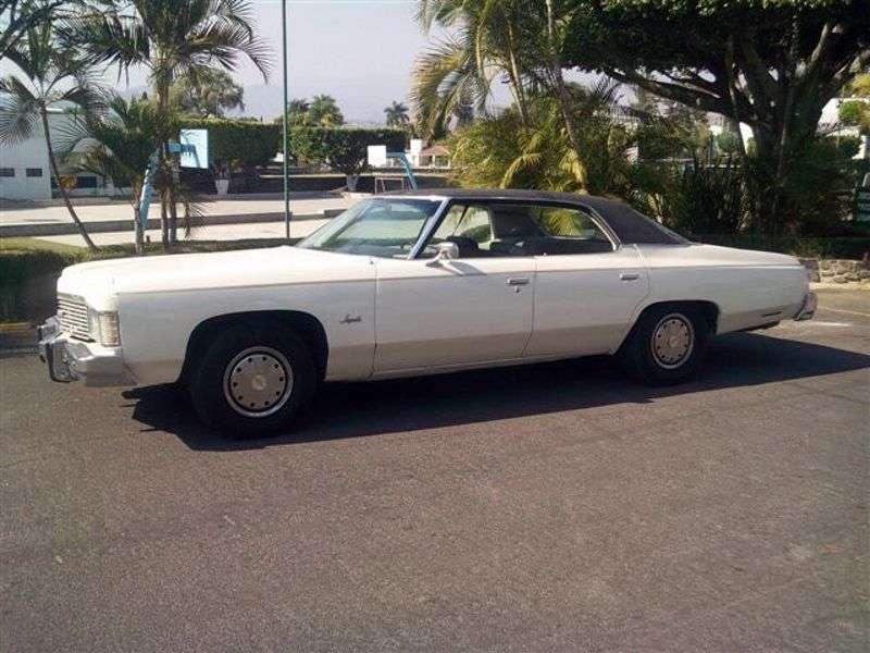 Chevrolet Impala 5th generation [3rd restyling] hardtop 6.6 Turbo Hydra Matic (1974–1974)