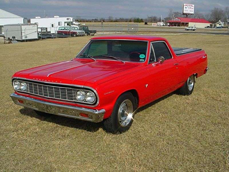 Chevrolet El Camino 2nd generation pickup 4.6 Powerglide (1964–1964)