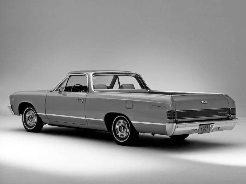 Chevrolet El Camino 2nd generation [3rd restyling] pickup 6.5 Powerglide (1967–1967)
