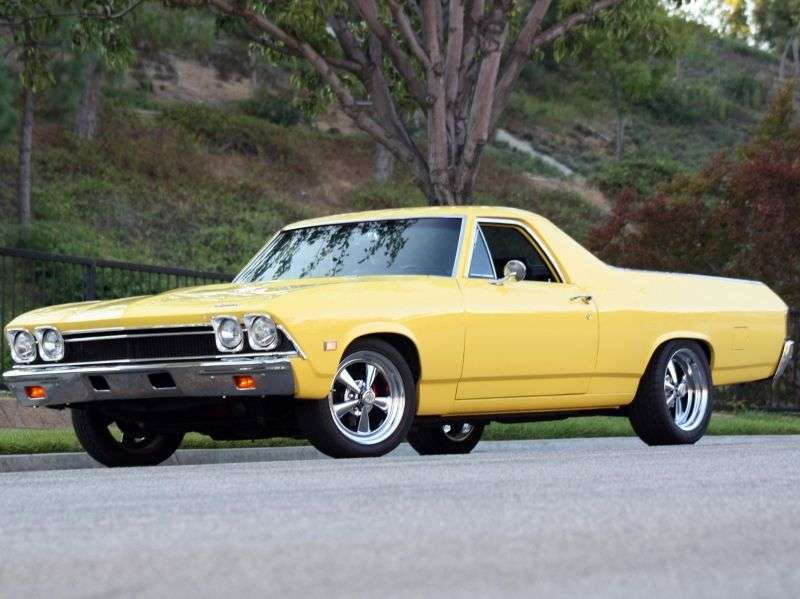 Chevrolet El Camino 3rd generation pickup 3.8 Powerglide (1968–1968)