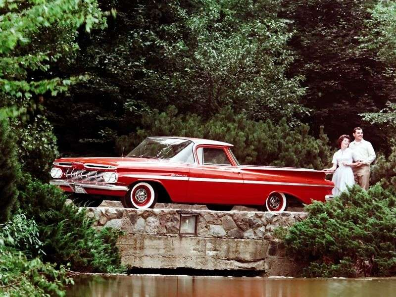 Chevrolet El Camino 1st generation pickup 5.7 Powerglide 4400 (1959–1959)