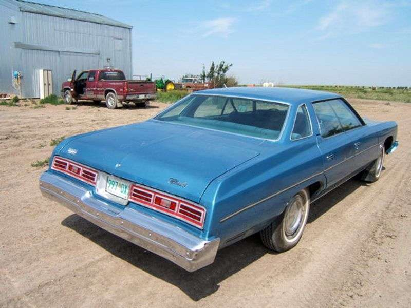 Chevrolet Impala 5th generation [4th restyling] hardtop 6.6 Turbo Hydra Matic (1975–1975)