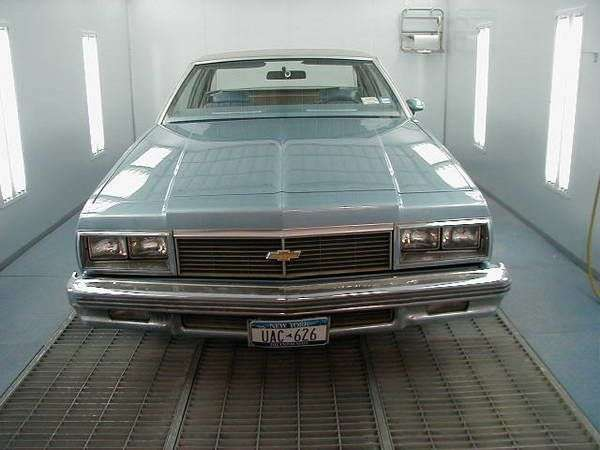 Chevrolet Impala 6th generation [2nd restyling] coupe 5.7 Turbo Hydra Matic (1979–1979)