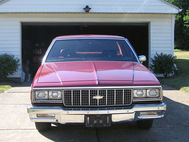 Chevrolet Impala 6th generation [3rd restyling] coupe 4.4 AT (1980–1980)