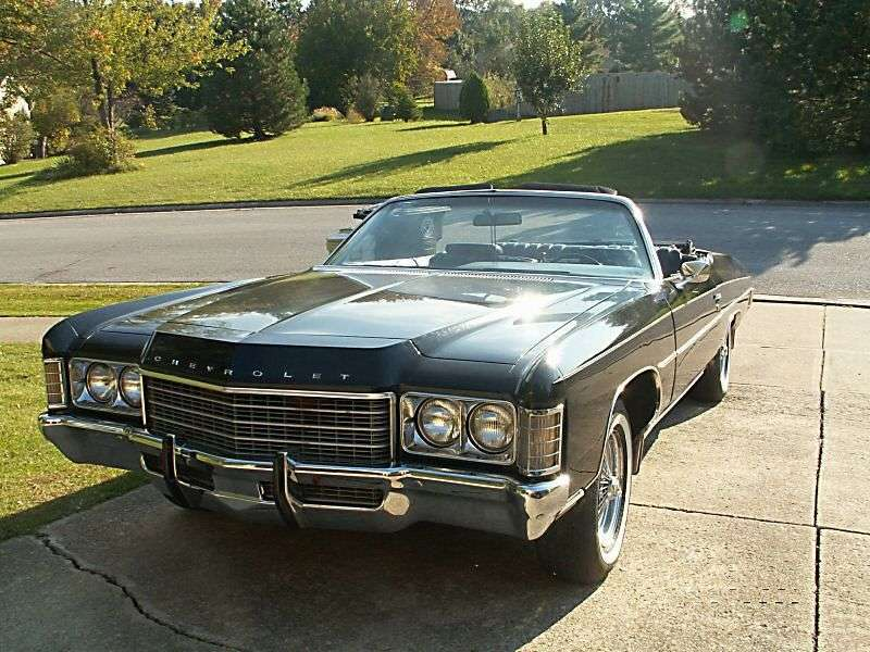 Chevrolet Impala 5th generation convertible 5.7 Powerglide (1971–1971)