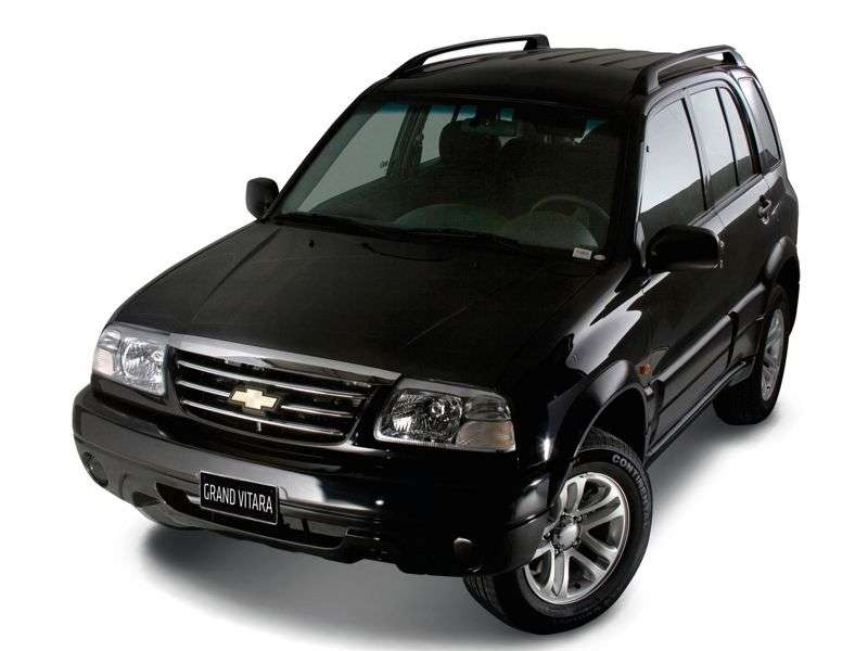 Chevrolet Grand Vitara 1st generation [restyling] SUV 5 dv. 2.5 MT AWD (2006–2013)