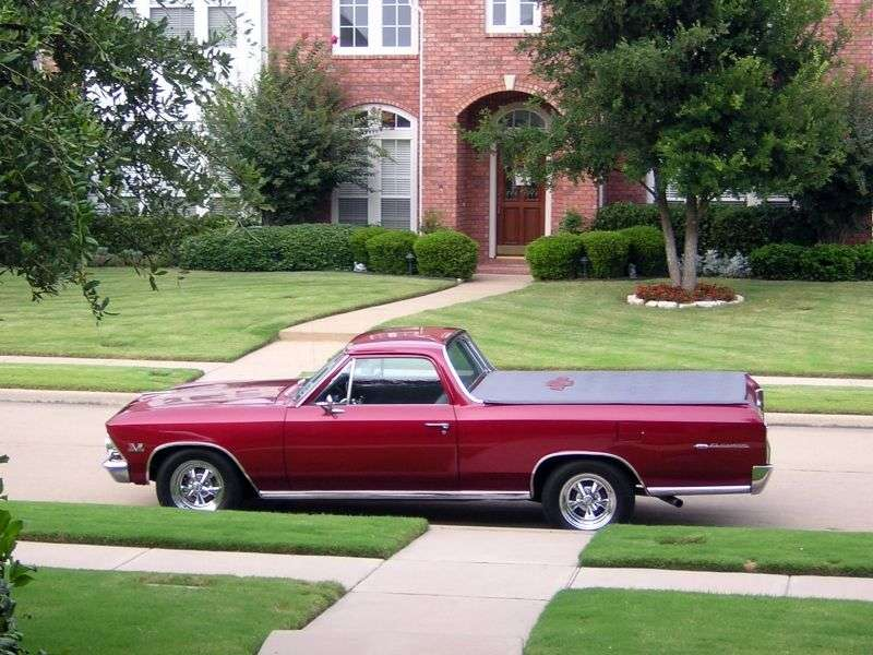 Chevrolet El Camino 2nd generation [2nd restyling] pickup 3.8 Powerglide (1966–1966)