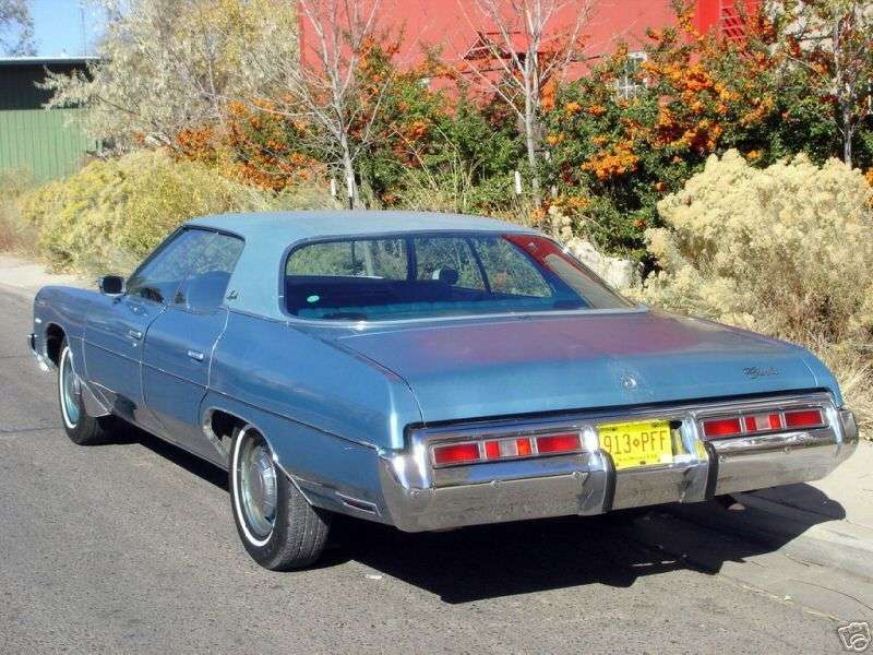 Chevrolet Impala 5th generation [restyling] hardtop 7.4 Turbo Hydra Matic (1972–1972)