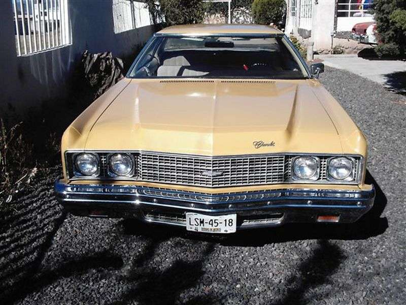 Chevrolet Impala 5th generation [2nd restyling] hardtop 7.4 Turbo Hydra Matic (1973–1973)