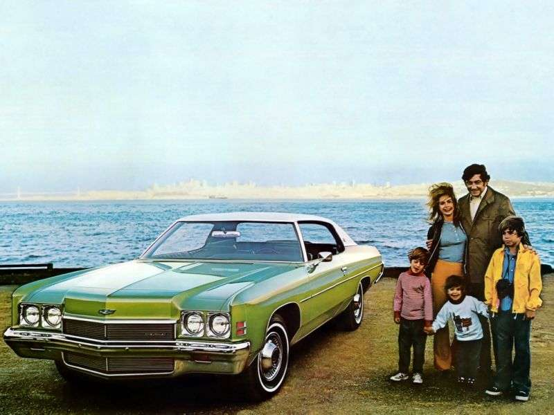 Chevrolet Impala 5th generation [restyling] Custom Coupe 5.7 Turbo Hydra Matic (1972–1972)