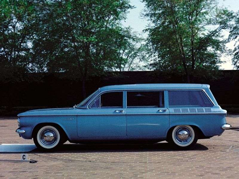 Chevrolet Corvair 1st generation [restyling] Lakewood wagon 2.4 Powerglide (1961–1961)