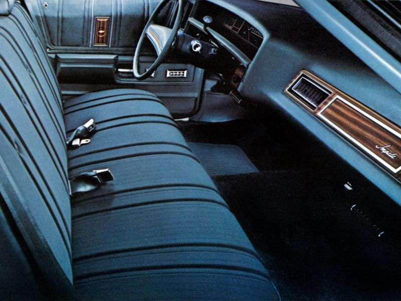 Chevrolet Impala 5th generation [5th restyling] hardtop 7.4 Turbo Hydra Matic (1976–1976)