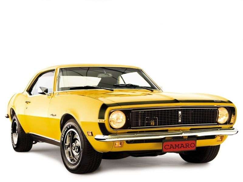 Chevrolet Camaro 1st generation [restyling] RS coupe 2 bit. 6.5 4MT (1968–1968)