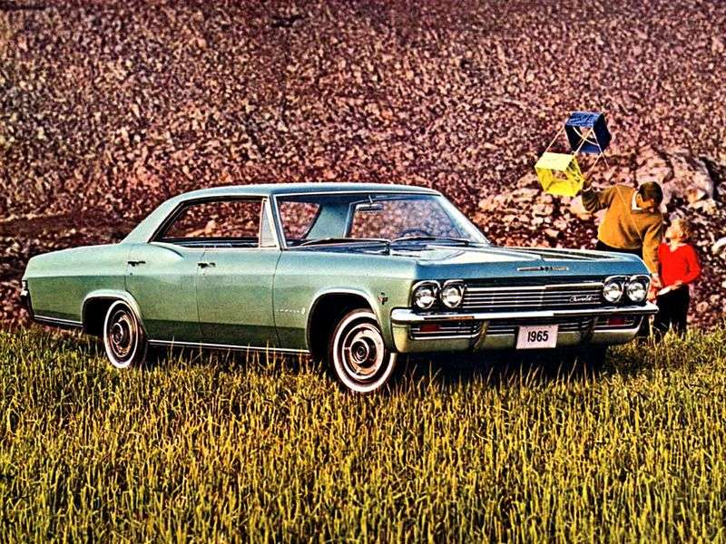 Chevrolet Impala 4th generation hardtop 5.4 Powerglide (1965–1965)